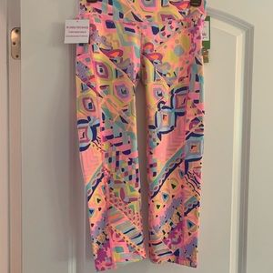 Lilly Pulitzer Plantain Party Weekender Crop Pants